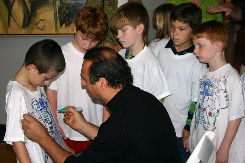 Yuroz engaging children, inspiring future thought leaders