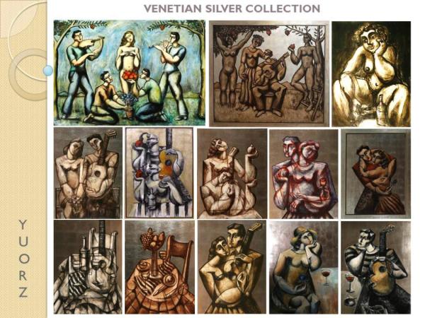 Yuroz Venetian Silver Collection