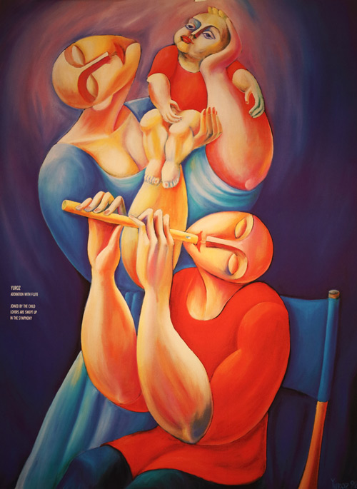 flute poster by yuroz