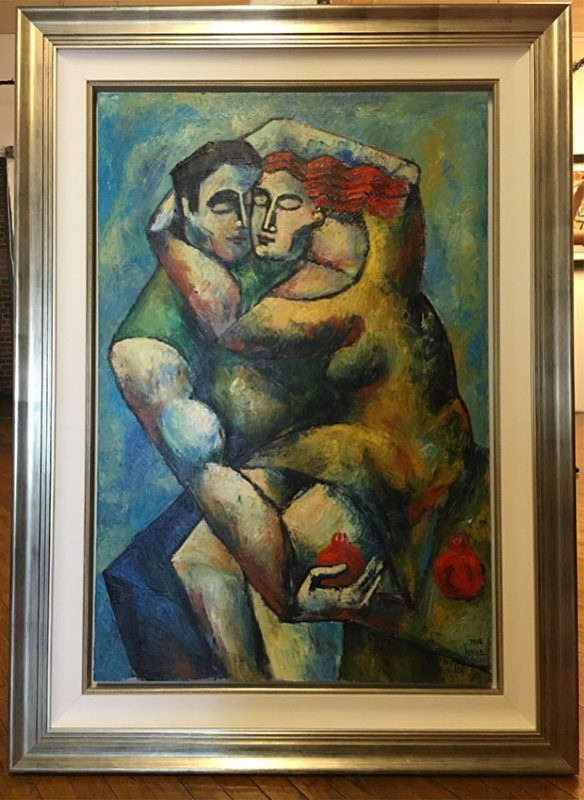 Lovers Embrace by Yuroz with frame