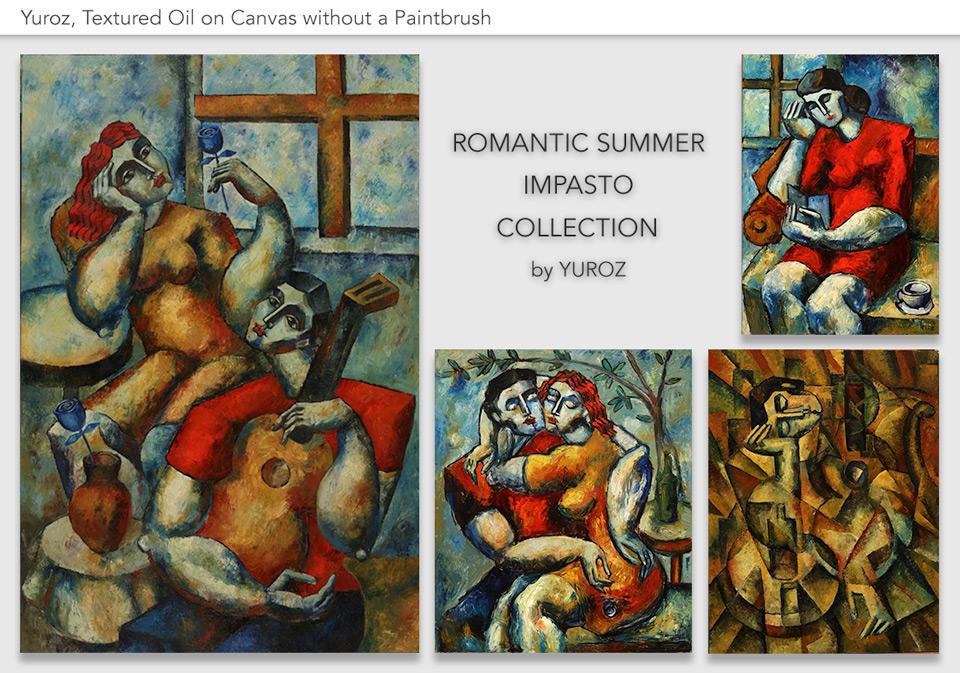 Romantic Summer Impasto Collection by Yuroz