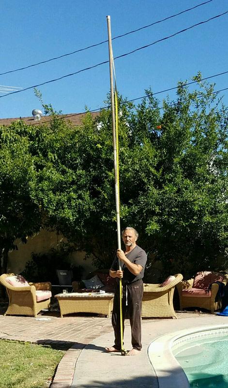 Yuroz measures 13 feet