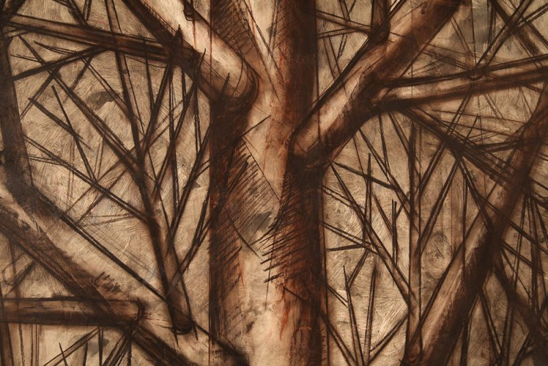 Meditation Series Peaceful Forest by Yuroz detail