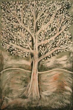 Oak Tree Series, Composition 11 (green) by Yuroz