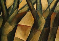 Meditation Series: Dancing Trees, Study II by Yuroz detail