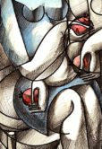 YUROZ_Lovers with Guitar & Pomegranate_detail2