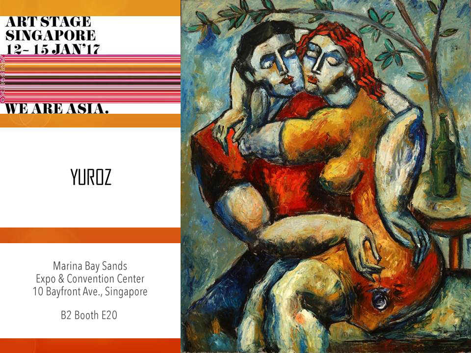 Yuroz at Yuroz at Art Stage Singapore 2017