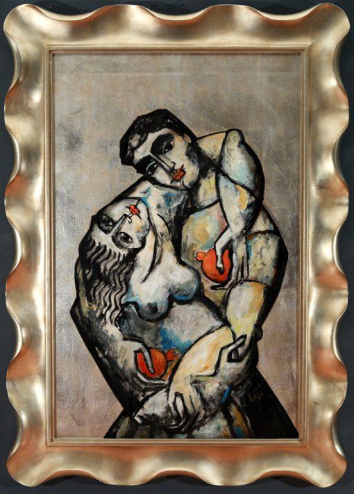 embrace by yuroz framed