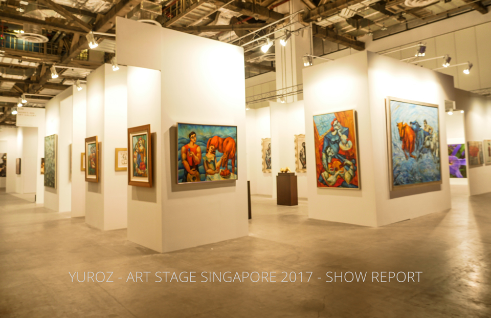 Yuroz at Art Stage Singapore 2017